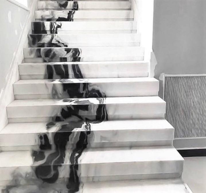 Polissage escalier en marbre sur Monaco