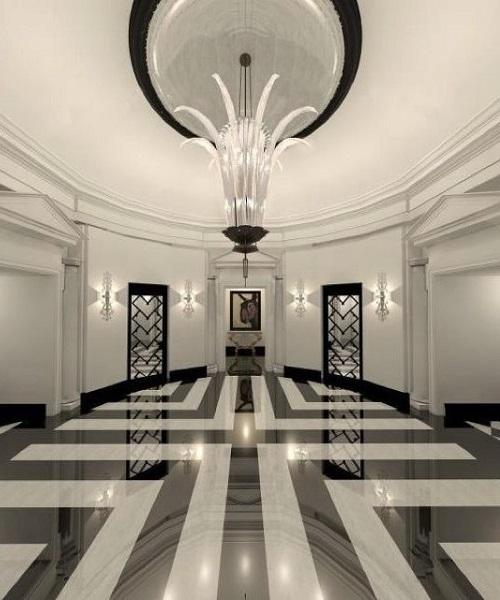 Rénovation et ponçage sol en marbre à Monaco