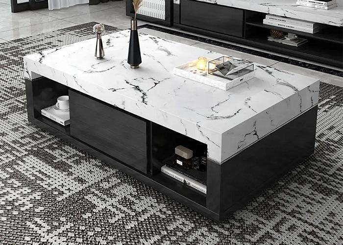 Polissage et rénovation table en marbre à Monaco