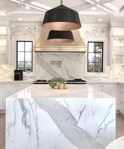 Rénovation et ponçage plan en marbre à Monaco