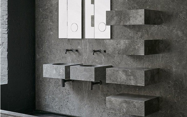 Traitement muraux en pierre naturelle